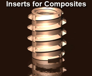 Thread Inserts for Composites