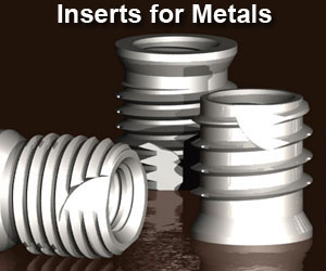 Thread Inserts for Metals
